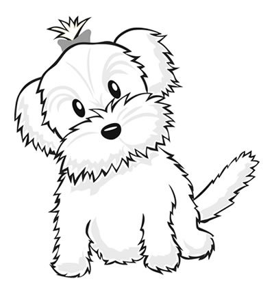Cute puppies pictures to color katy perry buzz for Cute puppies coloring pages
